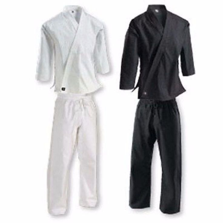 Century 12 ounce Heavyweight Brushed Cotton Uniform Karate Martial Arts c0459. Century 12 oz Heavyweight Brushed Cotton Uniform Karate Martial Arts c0459  cotton martial arts uniform  traditional 12 oz. 100% brushed cotton uniform unites comfort with durability. Uniform includes traditional jacket and drawstring pant of same colorColors: White, Black Sizes: 0 through 8   This chart is provided as a courtesy, not as a guarantee that it will fit. It doesn't account for all body types…