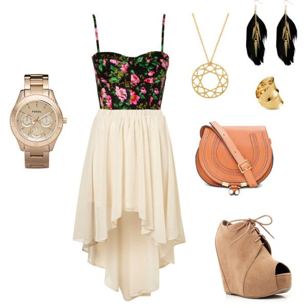17 Best images about Skirt outfits on Pinterest   Skirts High low and High low dresses