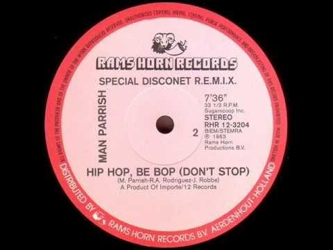 Man Parrish - Hip Hop, Be Bop 1982 (Special Disconet R.E.M.I.X.) - YouTube
