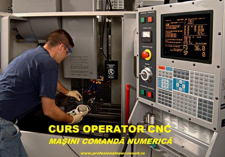 Curs OPERATOR MASINI / UNELTE CU COMANDA NUMERICA  pentru orice detalii despre cursul Operator CNC va stam la dispozitie la telefon 0760.031.178 . mai multe detalii : http://www.profesionalnewconsult.ro/cursuri-autorizate/cursuri-tehnice-meserii/curs-operator-masini-cu-comanda-numerica  Cursul este acreditat ANC, recunoscut in Romania si in UE. Va asteptam la inscrieri pe str. Iuliu Maniu nr. 47, cam. 5, cladirea Cobco, Brasov, email: brasov@profesionalnewconsult.ro