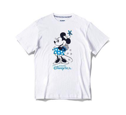 TDS限定 XLARGE コラボ Tシャツ ミニー ポップコーン 白
