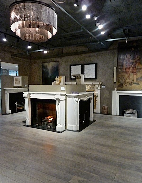 Chesney's has joined forces with the firm focused on restoring antique fireplaces. They have become the luxury leader in their field with a wide range of designs with The Soane Museum, The Lutyens Foundation and contemporary interior designers. In their new showroom in D&D building, creative collaborations enhance the space. The contemporary lighting/hardware by Ochre is wonderful contrast to the wide plank limed oak flooring by Rode Brothers (firm who installed the floors in the White…