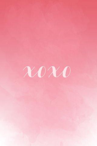 EMILY ALDER // Valentines Watercolor Iphone Background