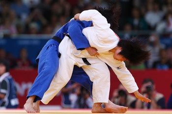 Women's Judo 52 Kg  Gold: Kum Ae An, North Korea  Silver: Yanet Bermoy Acosta, Cuba  Bronze: Rosalba Forciniti, Italy & Priscilla Gneto, France