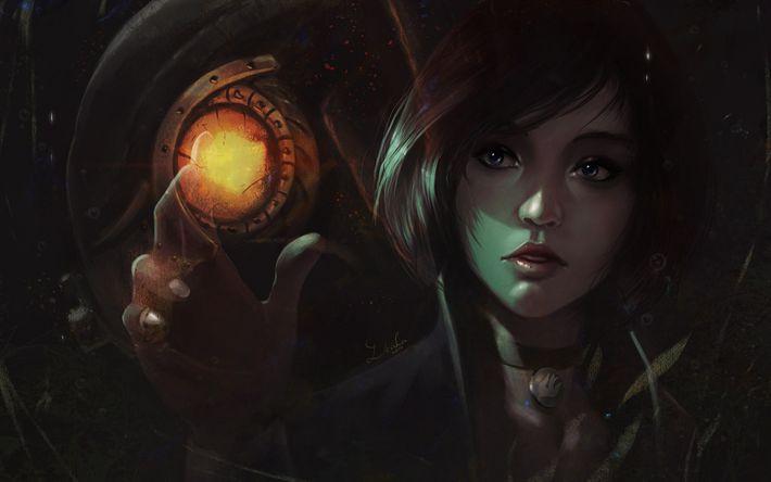 Herunterladen hintergrundbild elizabeth, shooter, bioshock infinite