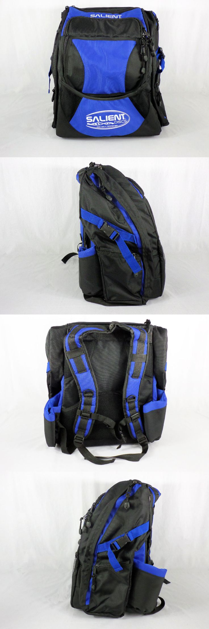 Disc Golf 20851: Blue Helix Style Disc Golf Backpack -> BUY IT NOW ONLY: $62.1 on eBay!