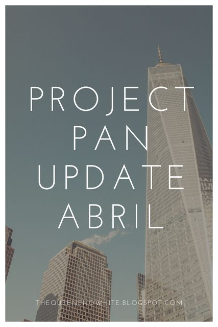 Project Pan 2017 Update abril - The Queen Snow White