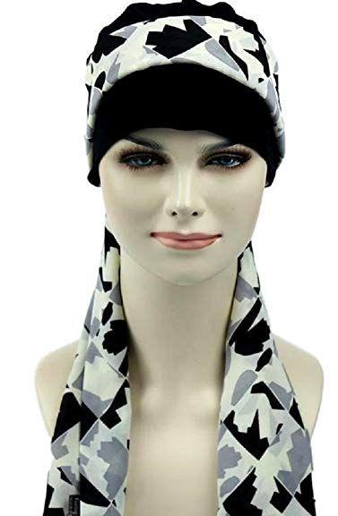 c8803be6f93a3 Women Bamboo Chemo Beanie Sleep Cap Turban Hair Loss hat Headwrap Cotton  Jersey Review