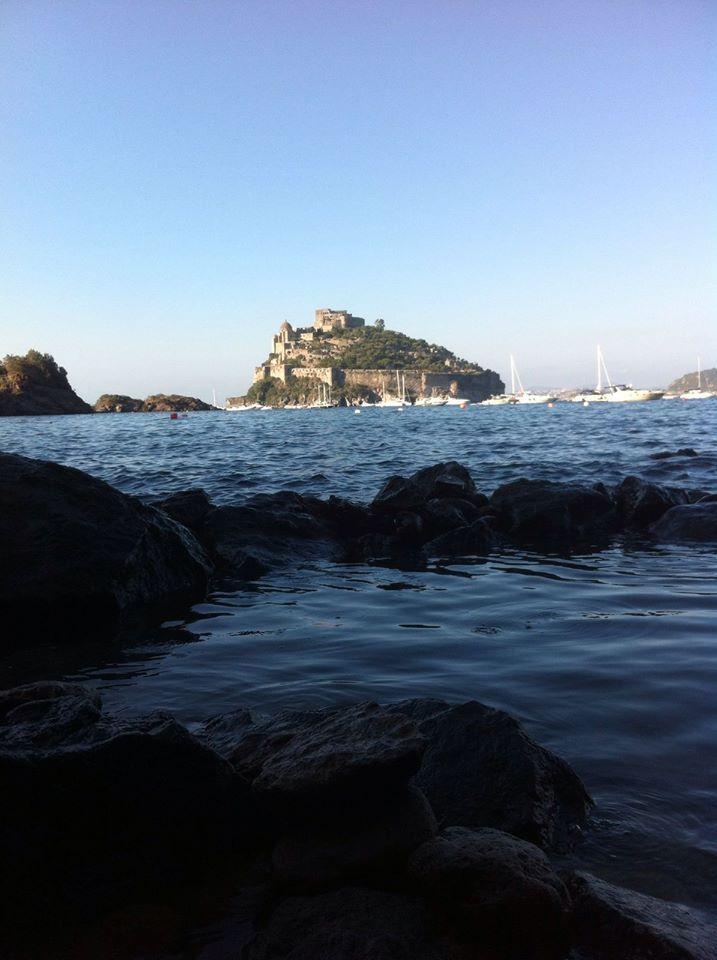 Dalle vasche d'acqua termale a #Cartaromana... buon #weekend a tutti voi :) #ischia #terme #ferragosto