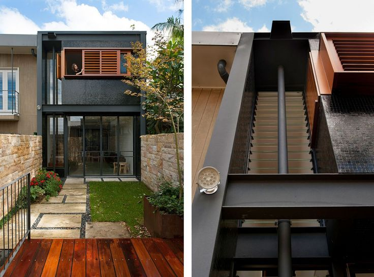 20 best rozelle terrace house carter williamson for Small house design with terrace