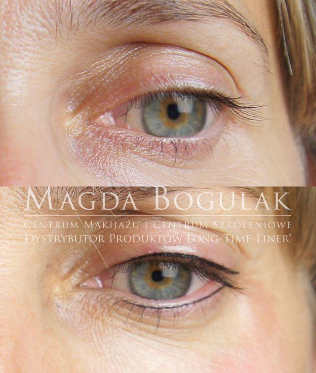 Makijaż permanentny oczu. Więcej o makijażu: http://permanentnywarszawa.pl/zabiegi/makijaz-permanentny-oczu/