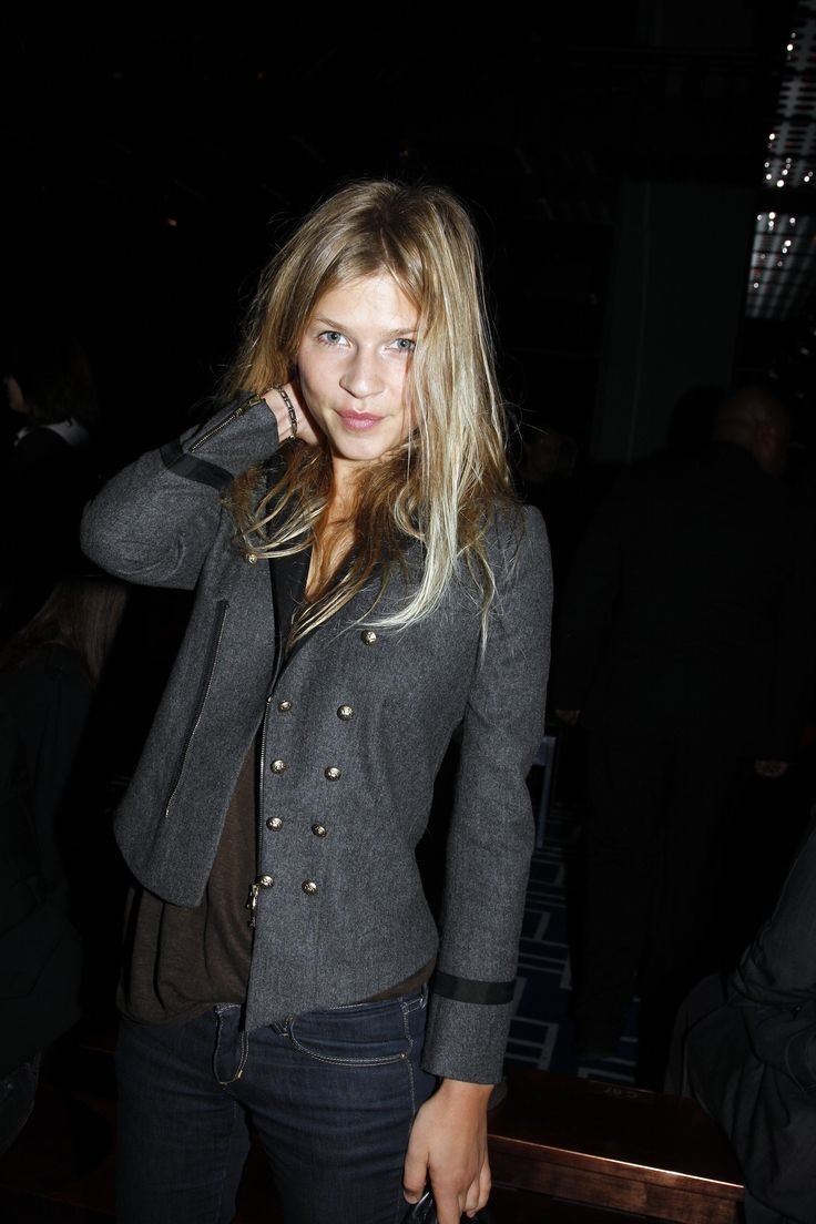 Clemence Poesy- Always love her look and hair color.