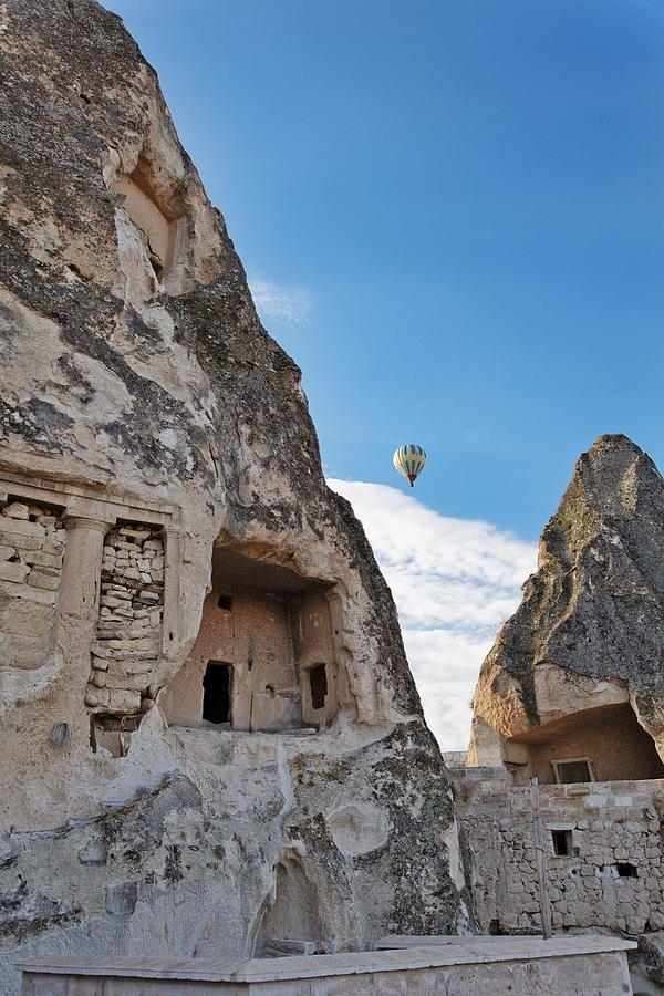 ✭ Limestone caves in Cappadocia, Anatolia, Turkey