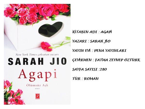 SARAH JİO / AGAPİ