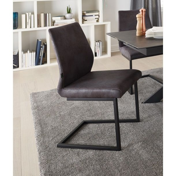 CASAVANTI Stuhl Leder Vintage Grau Bild 1 | Stühle in 2019