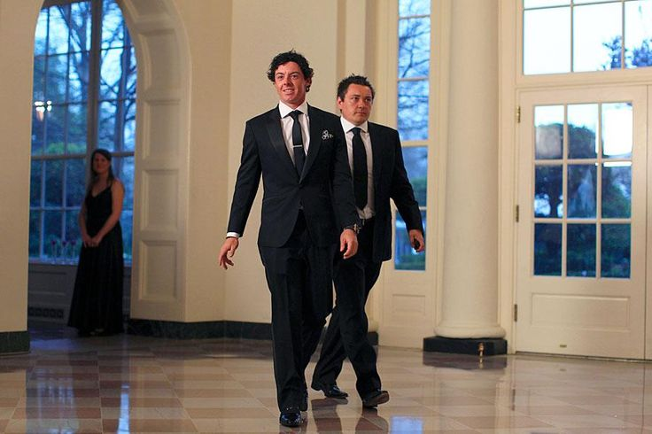 Rory McIlroy at the White House