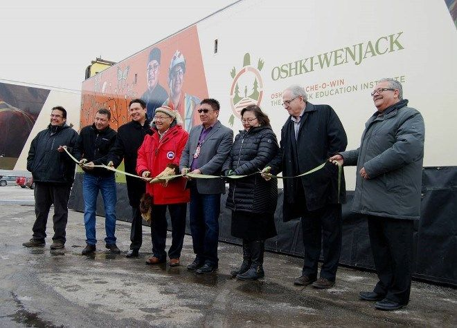 Oshki-Pimache-O-Win Wenjack Education Institute in Thunder Bay took possession of a new mobile trades trailer in January.ON: Oshki-Pimache-O-Win Wenjack Education Institute offers mobile trades training to all 49 communities of the Nishnawbe Aski Nation.