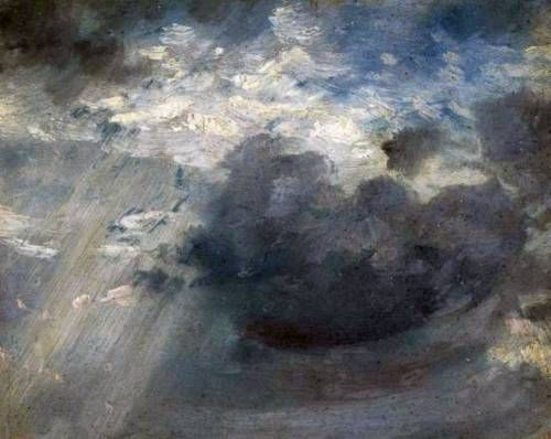 Cloud study - John constable
