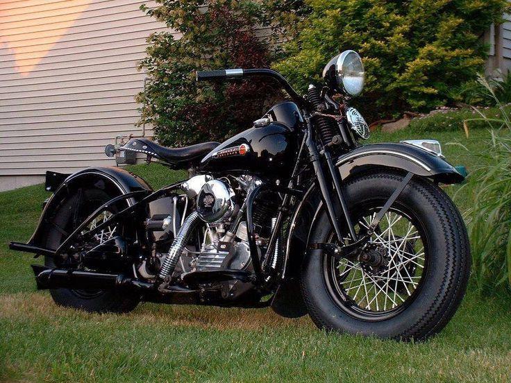 Harley Knucklehead Springer