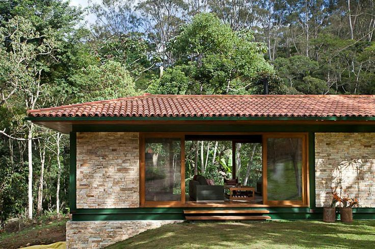 1000 images about casa de campo on pinterest gardens - Casa estructura metalica ...