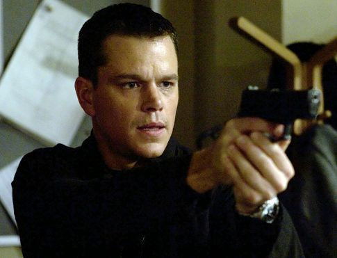 Matt Damon as an officer of the law, as well as my brother-in-law, Josh.