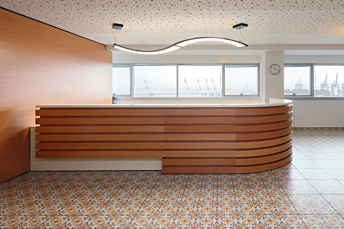 DANSBITS  Offices in #Israel with UNDA #LED #luminaire
