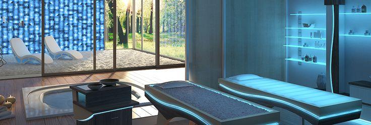 ISO BENESSERE Spa treatment Equilibrium VIP room with Salt room Salis