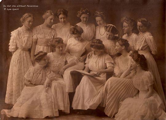 Выпускной 1900 года