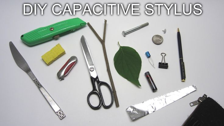 DIY Capacitive Stylus