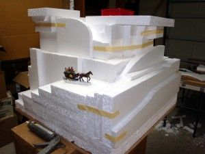 Go To Your Nearest Furniture Stores And Ask Them For Their Styrofoam Discards All That Packing