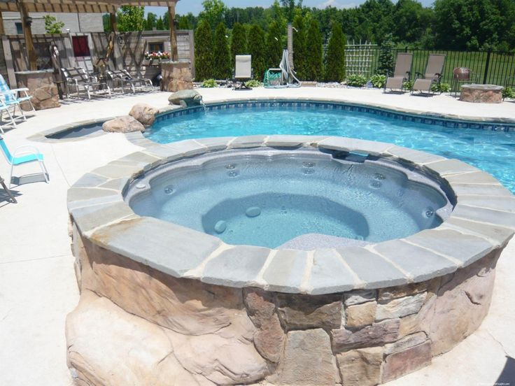 25 best relaxing wonderful spas and hot tubs images on for Spa construction