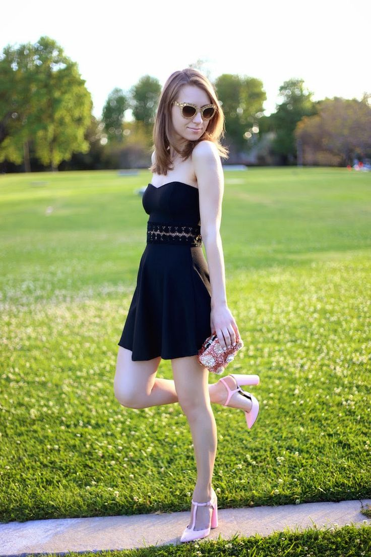 Gold, Pink and LBD