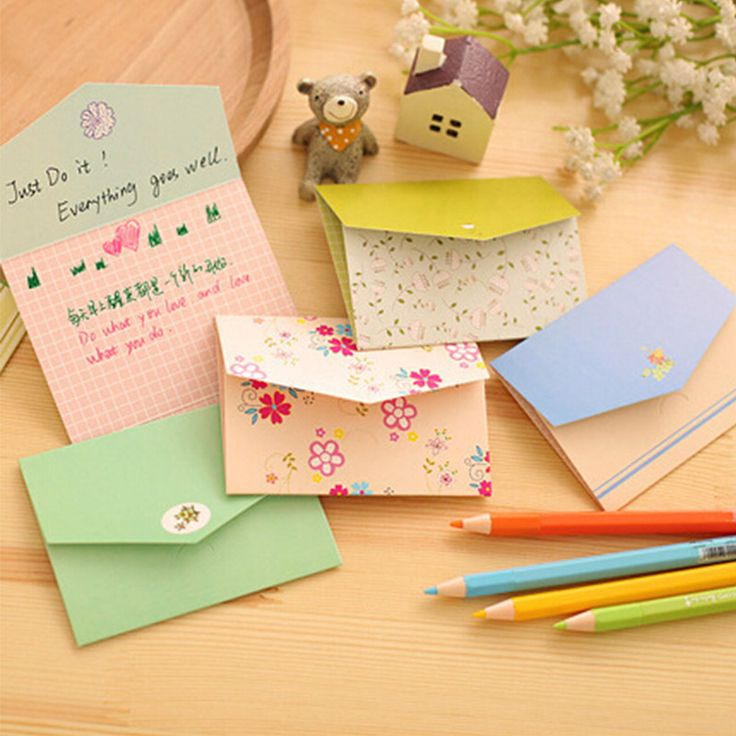 6 pcs/lot floral folding greeting card thank you card birthday christmas card envelope writing paper stationery-in Greeting Cards from Office & School Supplies on Aliexpress.com | Alibaba Group