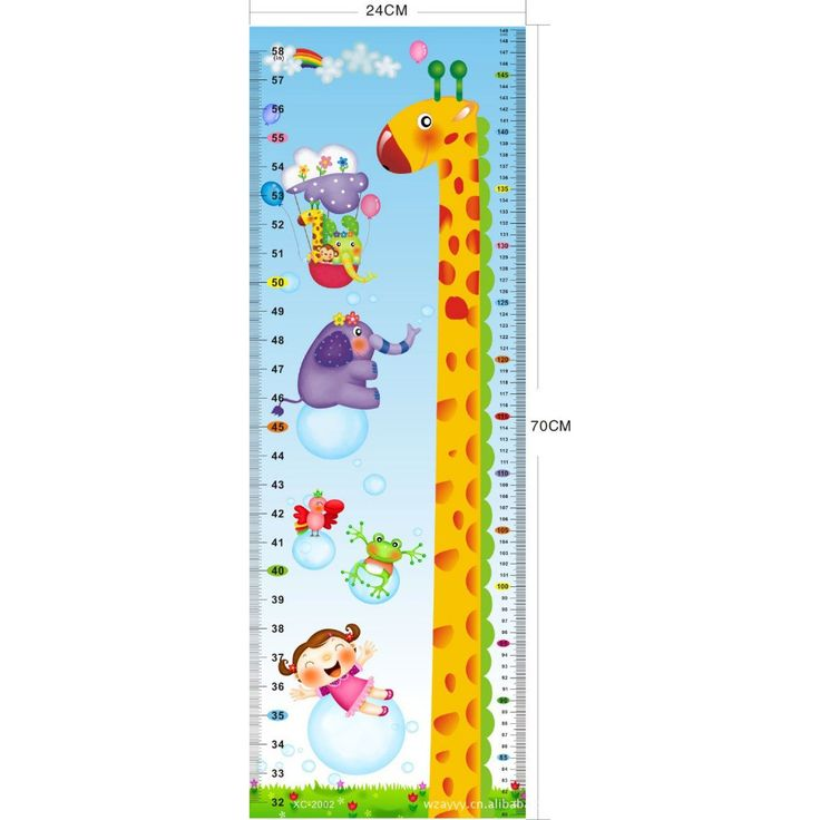 giraffe kids growth chart height measure wall stickers kids rooms giraffe wall sticker contemporary wall stickers