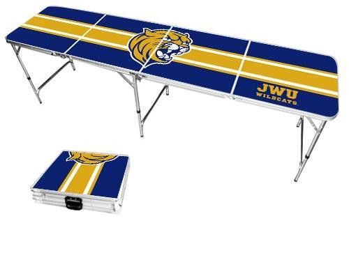 Johnson & Wales University Wildcats Varsity Stripe Folding Table