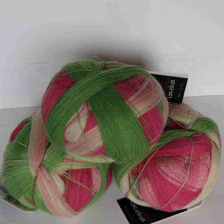 Durch die Blume - Zauberball Lace Schoppel-Wolle - Heikes Handgewebtes