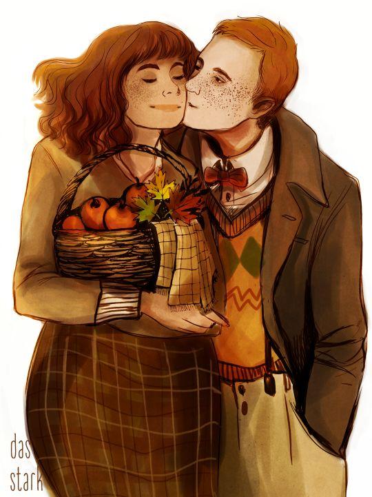 Mrs.&Mr. Weasley