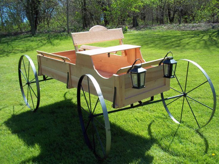 Cedar Kansas plains buckboard wagon