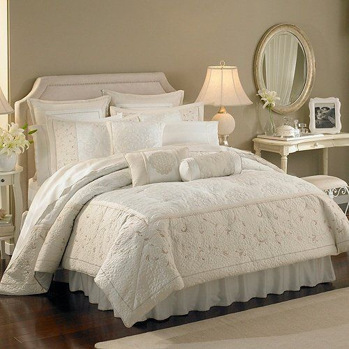 Beau Lenox Solitaire Queen Comforter Set By Lenox Bedding : The Home Decorating  Company
