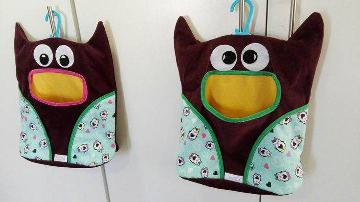 Owl peg bags