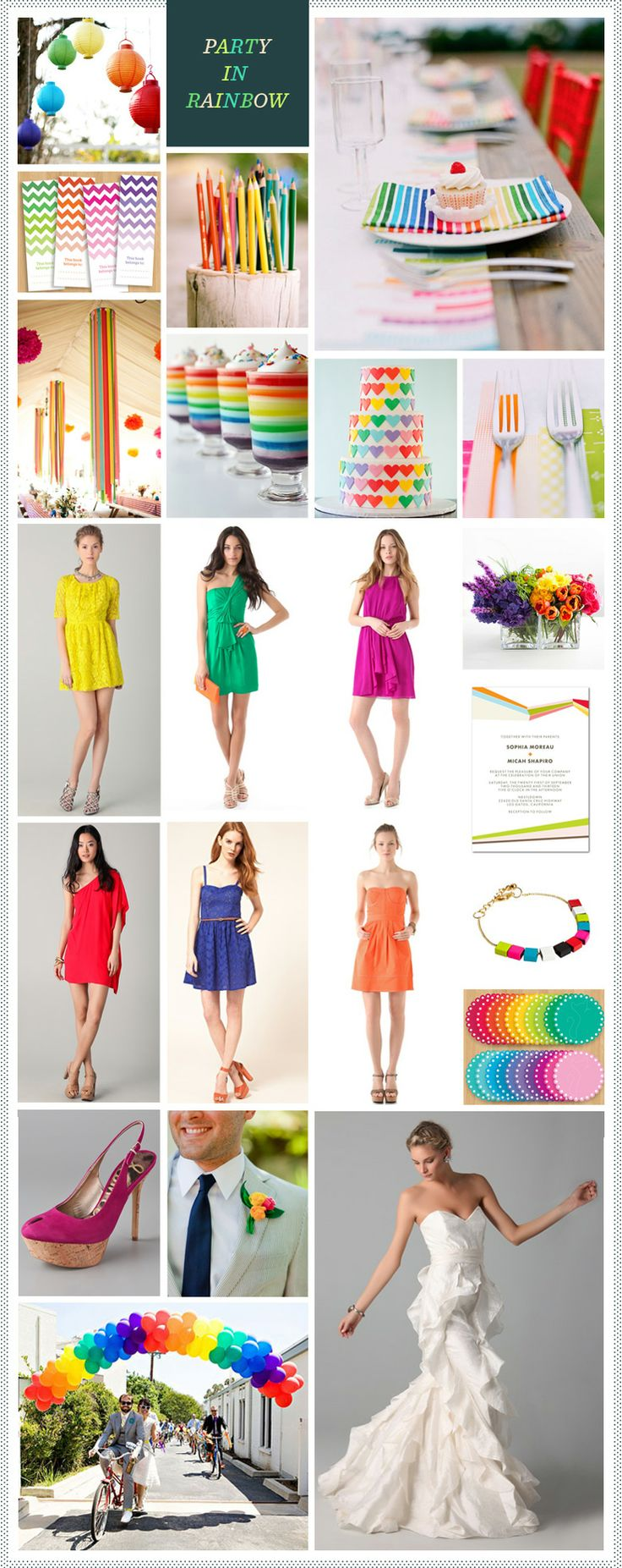 Party in Rainbow - pinning this for you, @Lindsey Bischoff Schaefer