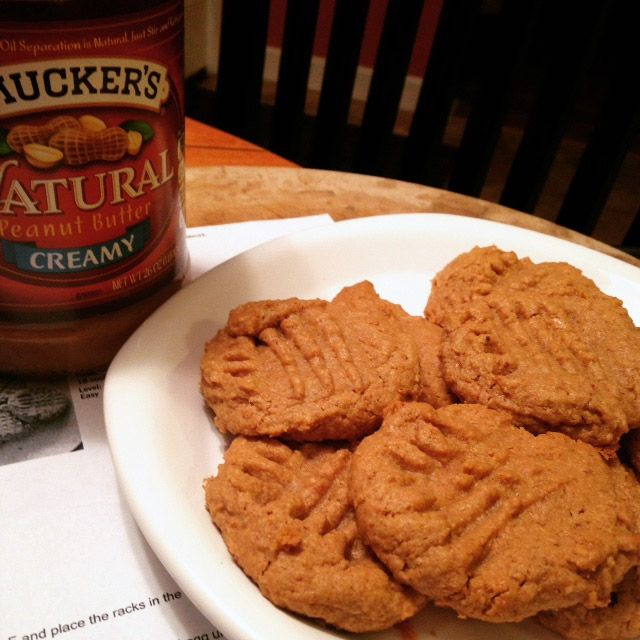 Peanut butter cookies - People wont believe it when you tell them these are low FODMAP and flour less, because they're that good.