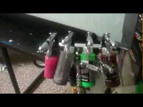Airbrush Set up for T-shirts at Home - YouTube