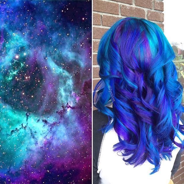 1000 Images About Hair Tutorials On Pinterest Galaxy
