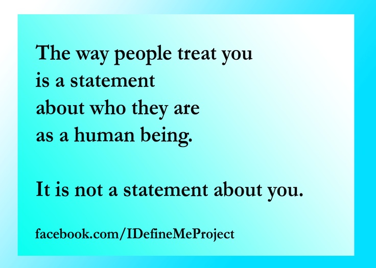The Way You Treat People Quotes. QuotesGram