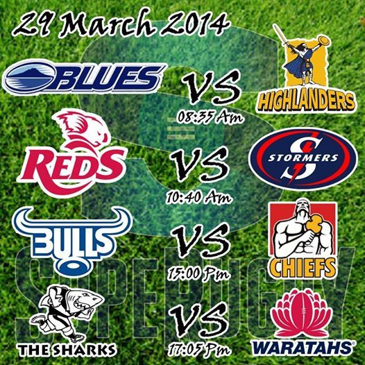 Super Rugby season is here. Good Luck to our South African teams playing this weekend. Who are you supporting this weekend? #superugby #sport #supergees