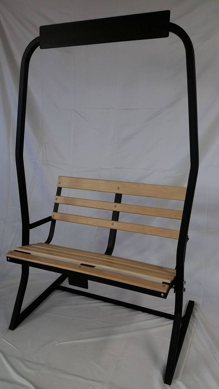 A BEAUTIFUL SKI CHAIRLIFT BENCH FOR YOUR PORCH OR GARDEN We have the beautifully refurbished Ski Chairlift Bench for sale here. The Ski Lift Chair makes the perfect addition to any outdoor leisure area. Wherever you ...