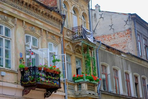 Lipscani St., Bucharest, Romania