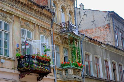 Lipscani St., Bucharest, Romania