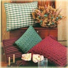 Diamond knitting pattern - KnitHit